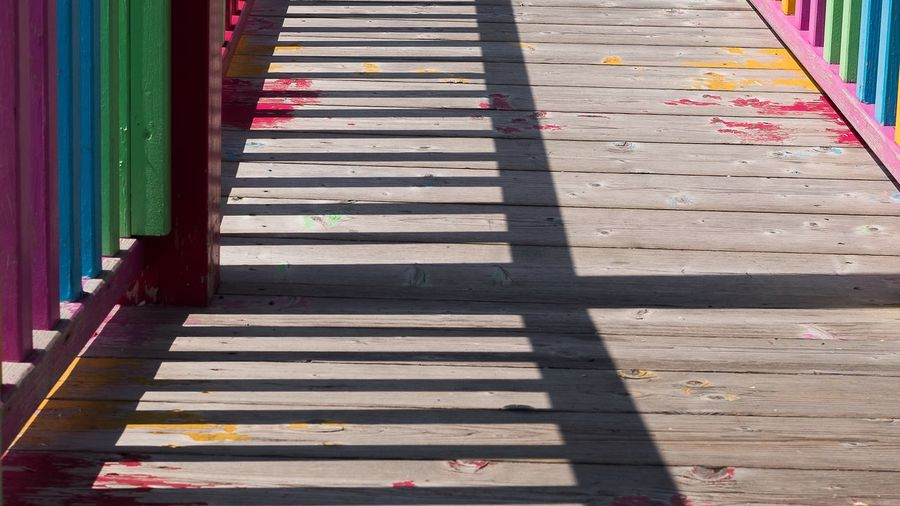 Colors and shadow Sunlight Shadow Day No People Footpath High Angle View Nature Outdoors Architecture Multi Colored