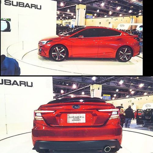 Watch out its coming soon! Subaru Impreza Imprezaconcept Subielove Scoobie Subie Subieflow Scooby Phillyautoshow2016