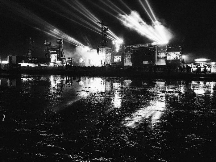 Thank you Wacken 🤘 Wacken Wacken 2016 WackenOpenAir2016 Wackenopenair Blackandwhite Nightphotography Festival Season Festival Heavy Metal