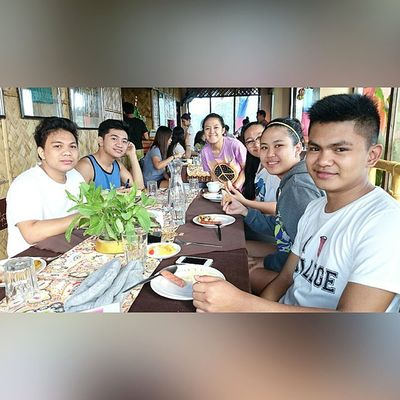 Benilde TravelersInProgress Trip Shrim teambuilding hoyoland breakfast