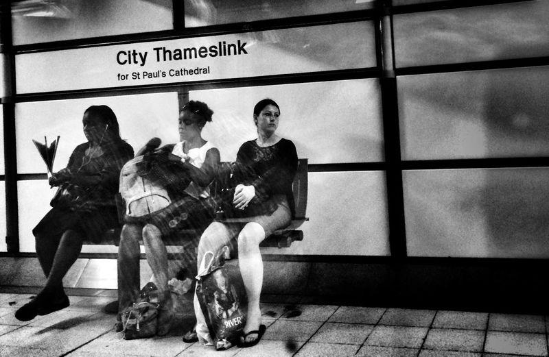 Shootermag Blackandwhite Public Transportation The Street Photographer - 2015 EyeEm Awards
