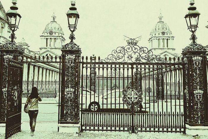 Greenwich Hospital Old Royal Naval College Greenwich London 2014