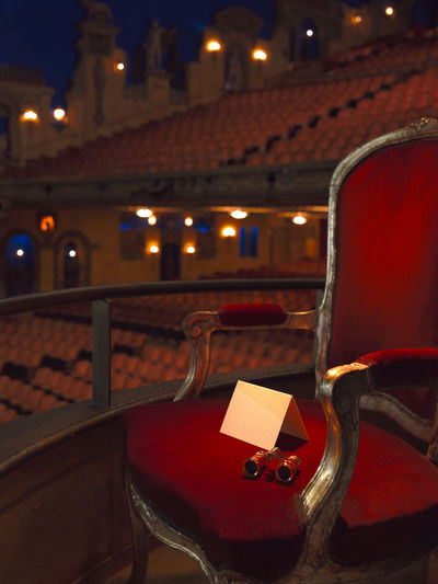 a seat reserved for a special person at the theatre Best Seat In The House Best Shots EyeEm Box Box Seat Chair Exclusive  Gala Invite Light And Shadow Live Show Night Out Opera Glasses Opera House Opéra Red Reserved Reservoir Royal Show Special Guest Stalls Theatre V.I.P Vip VIP Room