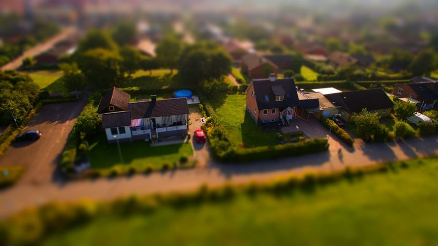 Tilt-shift Taking Photos Dji Phantom 3 4k Lost In The Landscape