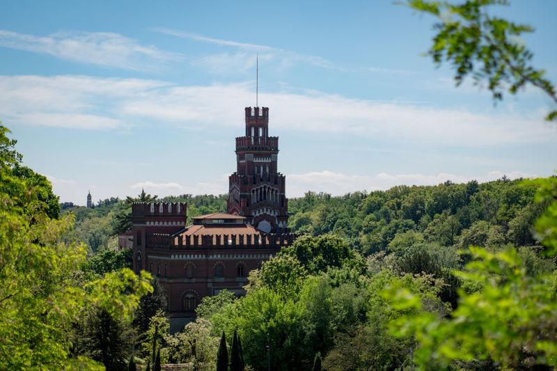 Architecture Castle Day History No People Outdoors Tree Urban Archeology Villaggio Crespi Patrimonio Unesco The Architect - 2017 EyeEm Awards