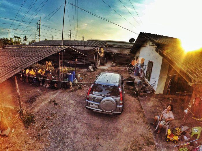 Country Life Country Sky Home Thailand Ratchaburi Farm