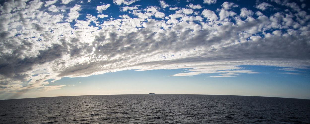 World is not flat (memories of the Baltic Sea) Feel The Journey Original Experiences Baltic Sea Blue Calm Cloud Cloudy Cruise Fish Eye Fish Eye Effect Horizon Over Water Idyllic Not Flat Ocean Open Sea Rippled Scenics Sea Seascape Ship Sky Tranquil Scene Vessel Water Wide Angle