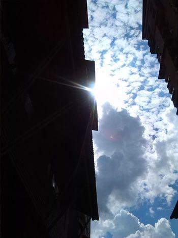 Cloudporn Beautiful Day Sky Sunrays