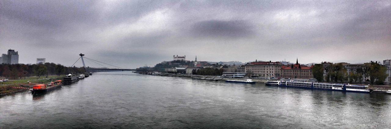 Bratislava Sky Architecture Water Cloud - Sky Bridge Donau DanubeAutumn🍁🍁🍁 Danube River Dunaj Dunajec River Bratislava_castle Bratislava City! Bratislava Hrad Bratislava, Slovakia Bratislava Bridge