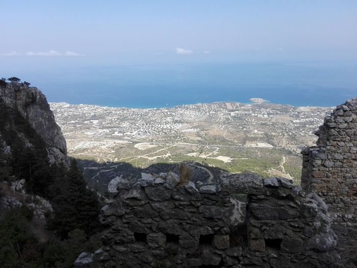Day Kyrenia Old Harbour Landscape Nature No People Outdoors Sea Sky St. Hillarion Castle Travel