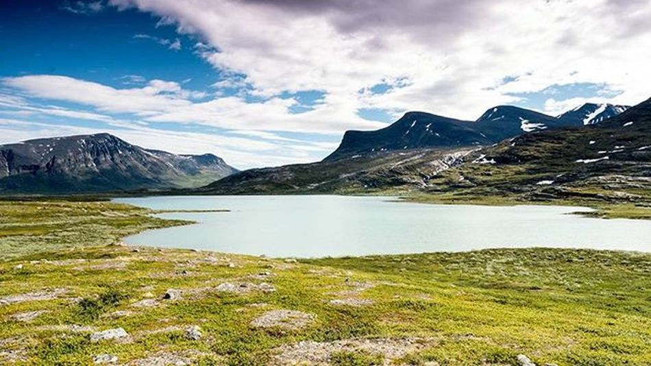 Sweden Sverige Kungsleden Fjallravenclassic FC2015 Summer Sommar Sky Landscape Clouds Mountains Fjallravenclassic The Great Outdoors With Adobe The Great Outdoors - 2016 EyeEm Awards