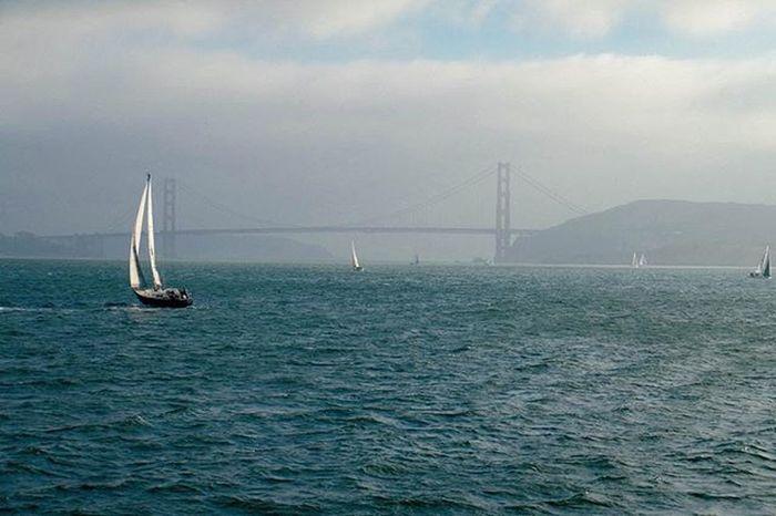 Sailing Sanfrancisco GoldenGateBridge USA Sanfran Sea Sky Landscape