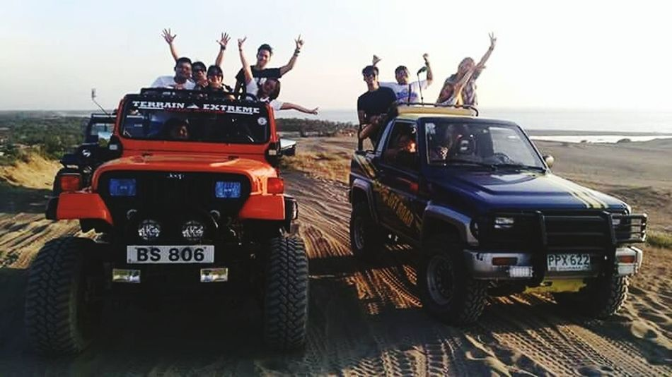 Sand Dunes 4x4 Off-road Team 4x4 Extreme Team Adults Only Outdoors Adventure Transportation Riding People Eyeem2017 Outdoors Photograpghy  Eyeem Philippines @eyeemph Outdoors Photograpghy  Large Group Of People Holding Happiness Adventure Is Out There Sports Race 4x4 Trucks Love Is Love The Traveler - 2018 EyeEm Awards
