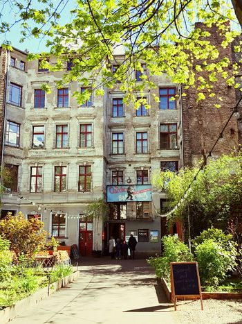 Architecture Building Exterior Built Structure Tree Day City Architecturelovers Buildings Germany Berlin City Life Travel Destinations Restaurant Fun Ballhaus