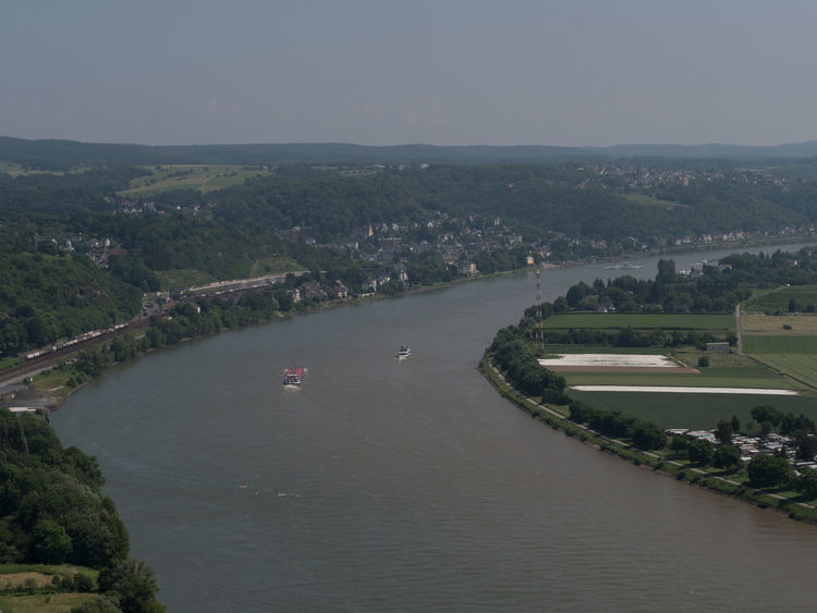 Erpeler Ley - way up and view: Rhine valley and Linz Erpeler Ley Nature Rhine Valley Beauty In Nature Day Elevated View No People Outdoors