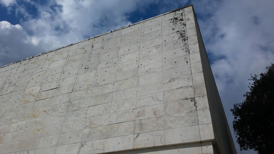 8 marzo 2016 Architecture Backgrounds Casa Delle Armi Design Exterior Foroitalico Full Frame History Luigi Moretti Marble Moretti Old Pattern Rationalism Roma Shadow Showcase March Structure Textured  Tile Wall Wall - Building Feature