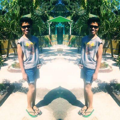 enjoyin' the heat of the sun ☀ Summer Muscletee Mirror Likeforlikes like4recent followforfollow igers