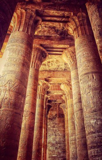 History Egypt Edfu Temple