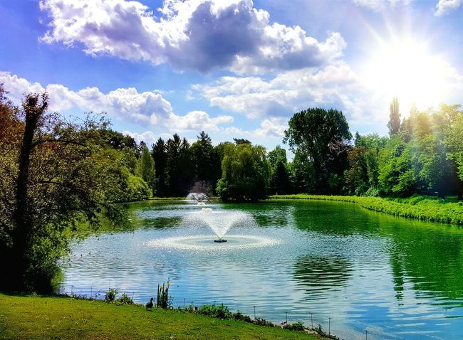 Nature on my doorstep... 😍 Werne A.d. Lippe The Great Outdoors - 2017 EyeEm Awards Water Tree Cloud - Sky Nature Sky Sunlight Reflection Lake Outdoors Green Color Beauty In Nature Tranquility No People Scenics BYOPaper! EyeEm Nature Lover EyeEm Gallery EyeEm Best Shots The Photojournalist - 2017 EyeEm Awards EyeEmNewHere Nature Photography Live For The Story Landscape Nrw Germany Lost In The Landscape #urbanana: The Urban Playground