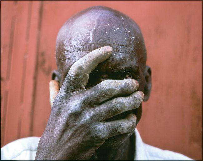 The Mason. Port au Prince, Haiti Human Body Part Human Hand One Person Senior Adult Close-up Men Human Face Senior Men Headshot Indoors  Day One Man Only Adult People Haiti, Hands Masonary