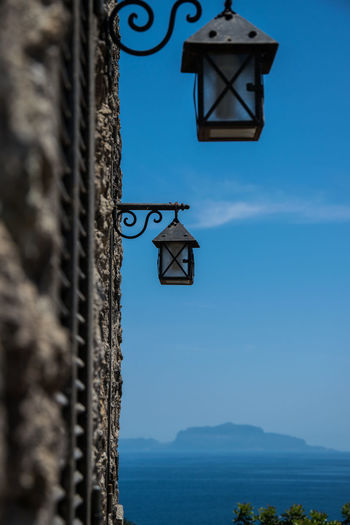 Architecture Capri, Italy Day Ischia Island Lanterns Mediterranean  Nature No People Outdoors Sea Sky Travel Destinations Traveling View To Capri Water