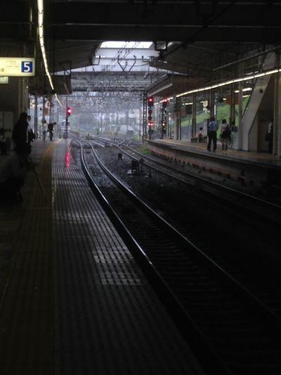 Station Shinyurigaoka Train Rainy Days Tokyo Rain 雨の新百合ケ丘駅