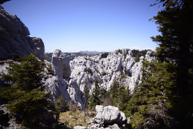 Bijele stijene, wonderfull hiking place in Croatia Adventure Bijele Stijene Croatia Day Enjoying Life Gorski Kotar, Hiking Landscape Landscape_Collection Mountain, Yosemite, Halfdome Mountaineering Nature Nature_collection No People Ogulin Outdoors Peak People Sky Trail Wilderness Wilderness Area