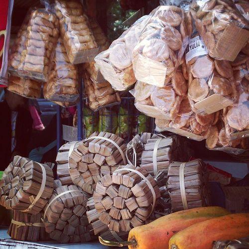 Traditional food. Brownsugar Traditionalfood Gulaaren Gulamerah opakketan