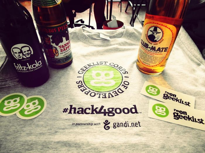Hack4good with local German flavor.