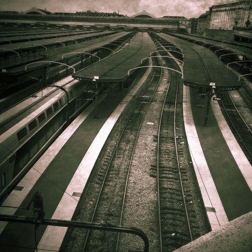 Gare de l'est, Paris IPhoneography