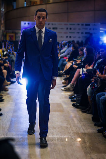 Adult Adults Only Arts Culture And Entertainment Business Businessman Full Length Indoors  Men One Man Only Only Men People Real People Red Carpet Event Standing Suit Well-dressed