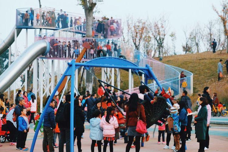 Adult Child Childhood Children Weekend Weekend Activities Sunday Park