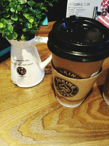 Coffee Cafe Time Wishmeluck China 和合,保佑!