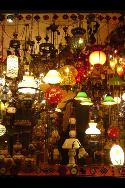 Lampen Lights Istanbul Turkey