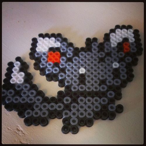 Minccino Perler Pokémon Never Grow Up