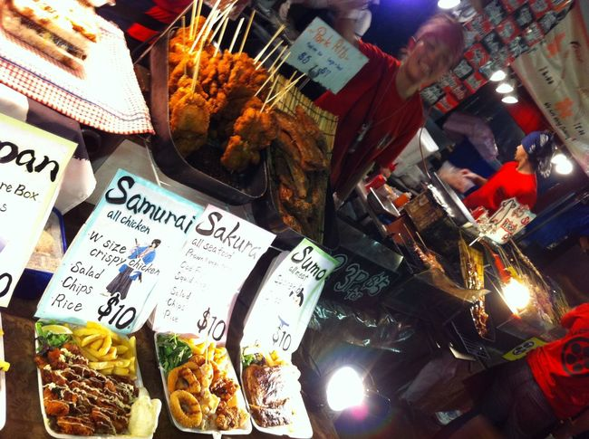 Abundance ASIA Food Freshness Fried Food Group Of Objects Japan Large Group Of Objects Low Light Image Market Night Market Order Retail  People And Places Streetphotography Street Photography