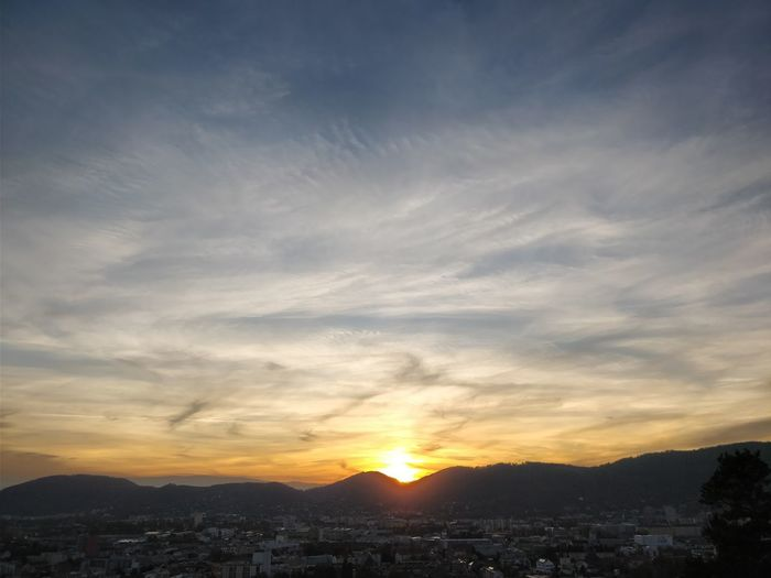 Schlossberg sunset