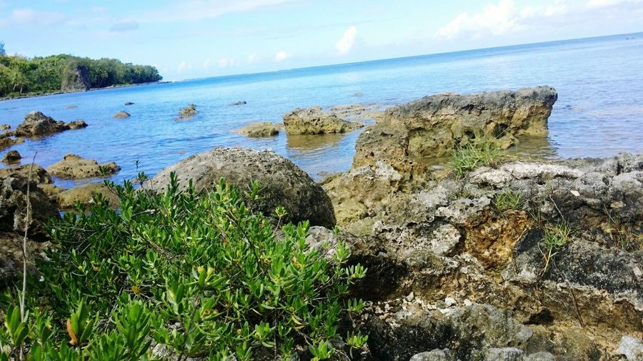 Beach Sea Scenics Nature Ocean nature guam sella bay Relaxing Enjoying Life