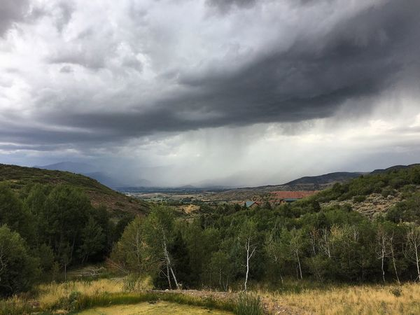 good storms lately. ⚡️⛰ Heber City Wasatch County Wasatch Back Utah Cloud - Sky Sky Landscape Environment Plant Scenics - Nature Nature