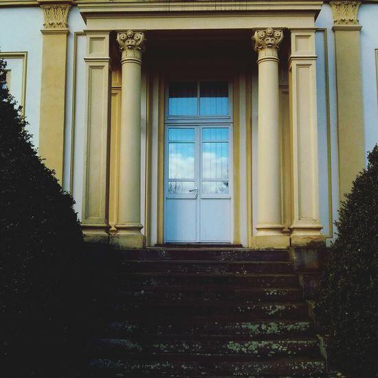 entrance to heaven? Spiegelung Doors