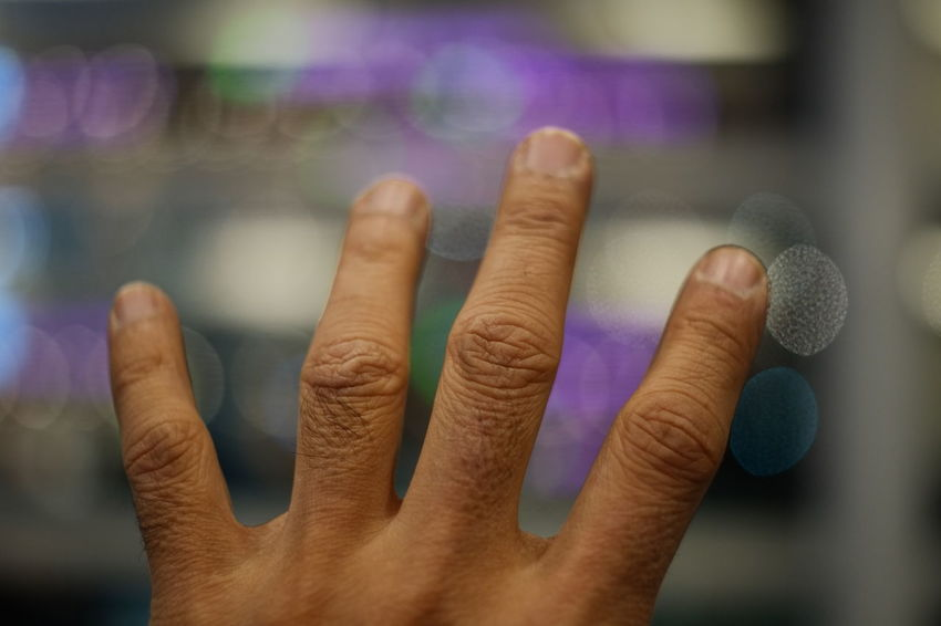 Close-up Human Body Part Human Hand Fingernail Finger Hand Human Finger Index Finger Manicure Body Part