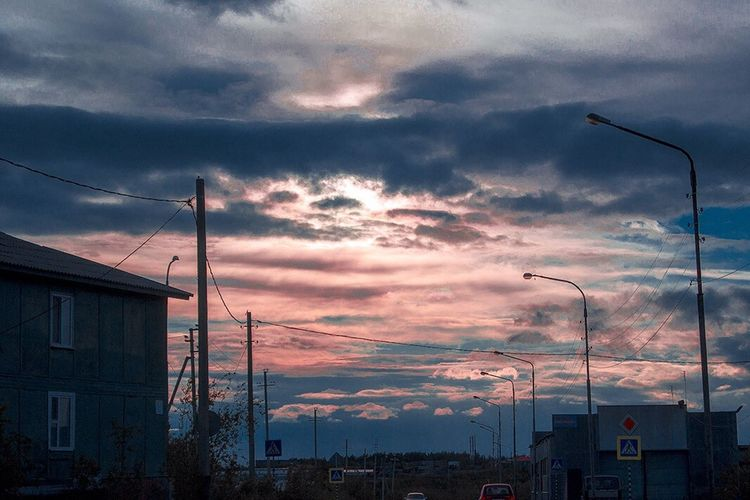 Sunset Salekhard Yamal Yanao SHD Shd2day Салехард ЯМАЛ небо север