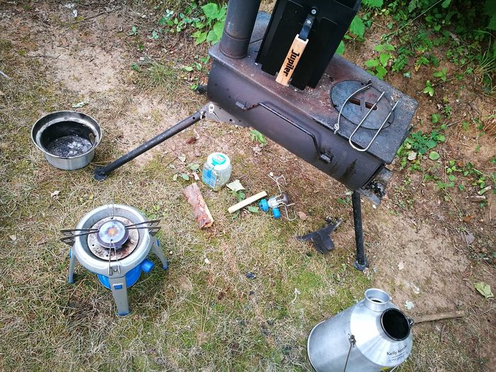 Home Is Where The Art Is Home Is Where My Food Is I love Outdoor cooking. Everywhere my outdoor cooking gear is is my home. Frontier StoveKelly Kettle Smoker Joe