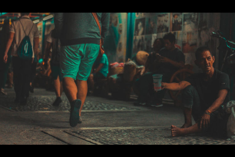Inequality #Night #alone #inequality #lonely #philippines #poverty #street #streetphotography Outdoors Manila, Philippines Homeless Streetart #cinematic EyeEmNewHere Second Acts