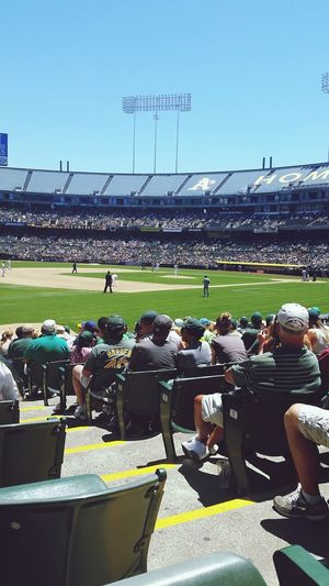 My Best Photo 2014 OaklandAthletics A's Game Oaklandcoliseum