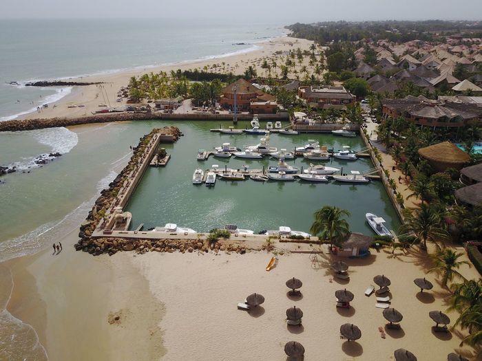 Beach Nature Sea High Angle View Dronephotography Dakar 2017 Mavicpro Saly