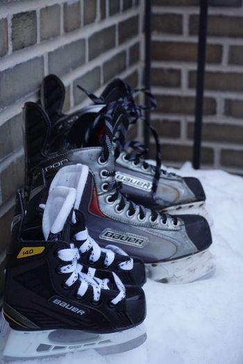 Baby Skates Close-up No People Day Ice Skate Ice Skates Hockey