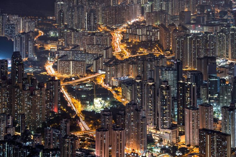 Night HongKong Clouds And Sky Cityscapes Photography