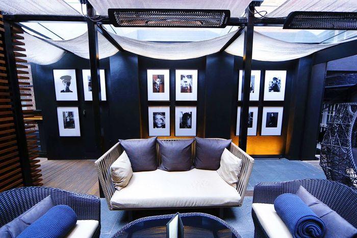 Mayfair, London Hotel Restaurant Interior Wide Angle Gorgeous
