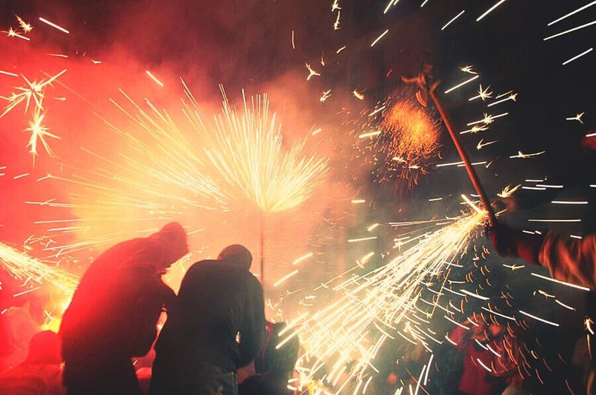 Catalunya Correfoc Pyrotechnics Correfocs